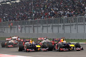 Indian Grand Prix start 2012