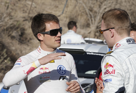 Sebastien Ogier and Jari-Matti Latvala