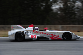 DeltaWing, Road Atlanta testing, March 2013