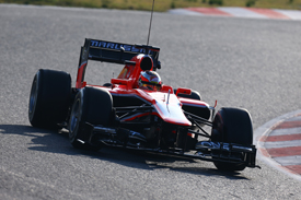 Jules Bianchi, Marussia, Barcelona F1 testing March 2013