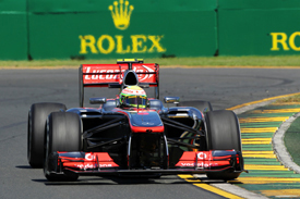 Sergio Perez, McLaren, Melbourne 2013