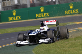 Pastor Maldonado, Williams, Melbourne 2013