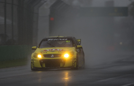 Shane van Gisbergen leads in Melbourne