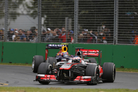 Jenson Button, McLaren, Melbourne 2013
