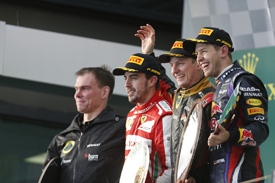 Melbourne podium 2013