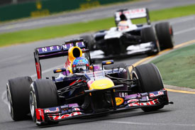 Sebastian Vettel Red Bull F1 2013 Australia