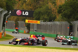 Mark Webber Red Bull F1 2013 Australia
