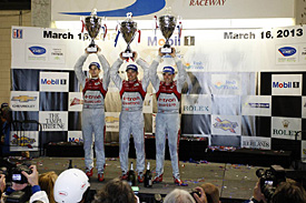 Audi delighted with Sebring farewell