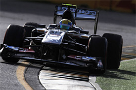 Sauber surprised by frontrunners