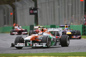 Adrian Sutil, Force India, Melbourne 2013