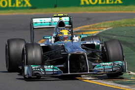 Mercedes F1 2013 Australia