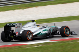 Lewis Hamilton, Mercedes, Sepang 2013