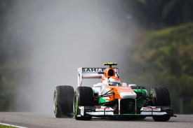 Adrian Sutil, Force India, Sepang 2013