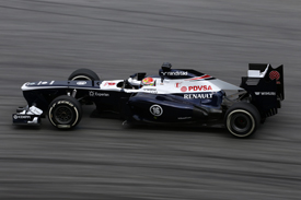 Pastor Maldonado, Williams, Sepang 2013