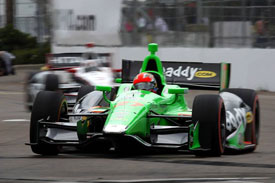 James Hinchcliffe IndyCar 2013 St Petersburg