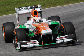 Force India Mercedes F1 2013