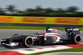 Nico Hulkenberg Force India F1 2013 Malaysia