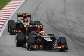 Romain Grosjean, Lotus, Sepang 2013