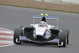 David Fumanelli, Trident, Silverstone GP3 testing, April 2013