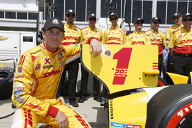 Ryan Hunter-Reay Andretti IndyCar 2013 Barber