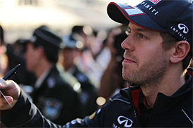 Sebastian Vettel in China on Thursday
