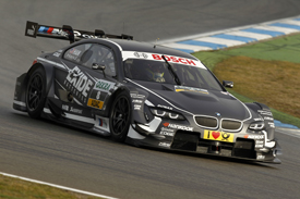 Joey Hand, RBM BMW, Hockenheim DTM testing April 2013