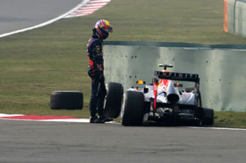 Mark Webber Red Bull F1 2013 China