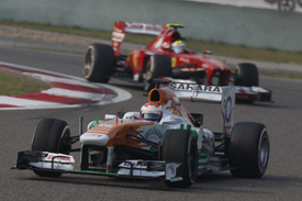 Paul di Resta, Force India, Chinese GP 2013