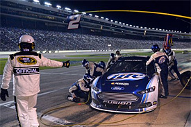 Keselowski feels 'targeted' by NASCAR