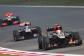 Romain Grosjean F1 2013 China