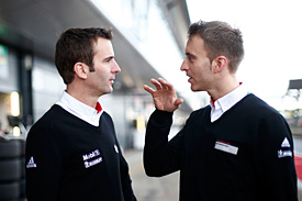 Timo Bernhard and Romain Dumas