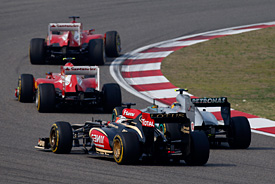 Drivers say 2013-style F1 great for fans