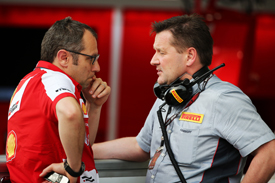 Stefano Domenicali and Paul Hembery
