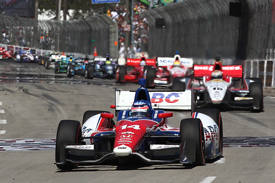 Takuma Sato wins Long Beach IndyCar race 2013