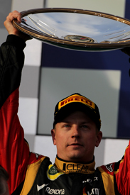 Kimi Raikkonen wins the 2013 Australian GP