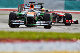 Adrian Sutil Force India 2013 Malaysian GP