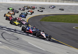 Kentucky IndyCar race 2011