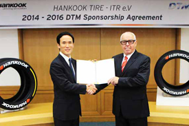 Hankook DTM announcement