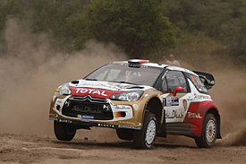 Loeb takes lead after Ogier mistake