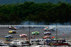 Talladega NASCAR Sprint Cup crash 2013