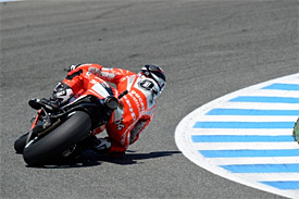 Ducati duo positive over new chassis