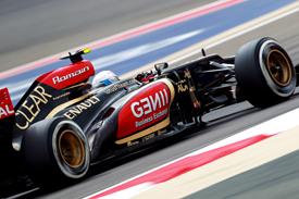 Romain Grosjean, Lotus, Bahrain GP 2013