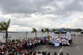 WRC Argentina podium