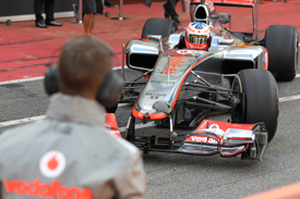 Oliver Turvey, McLaren, Mugello F1 testing, May 2012