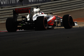 Jenson Button, McLaren, Bahrain GP 2013