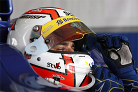 Nasr dominates practice for Carlin