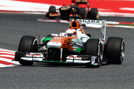 Paul di Resta, Force India, Spanish GP, Barcelona 2013