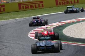 Льюис Хэмилтон озадачен спадом Mercedes в гонке Гран При Испании