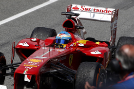 Fernando Alonso wins the 2013 Spanish GP