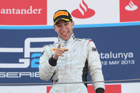 Robin Frijns wins Barcelona GP2 race